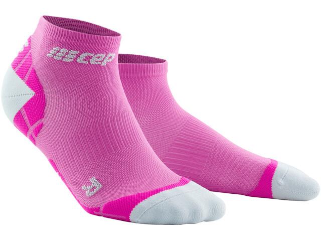 cep Ultralight Low Cut Socks Women electric pink/light grey